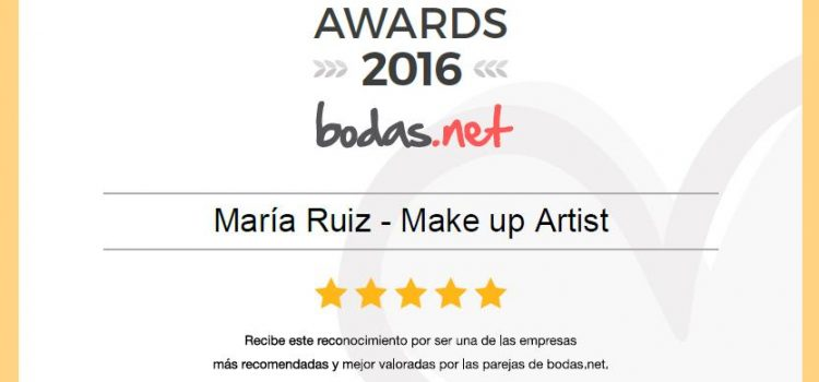 WEDDING AWARDS 2016  DE BODAS.NET